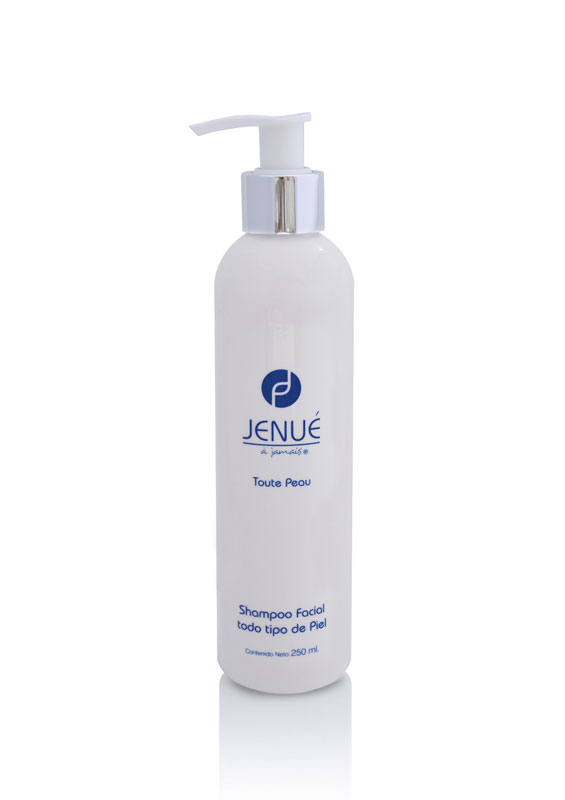 shampoo facial todo tipo de piel, jenue toute peau